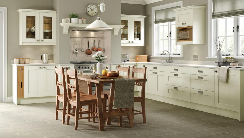 Kensington Kitchen Ivory