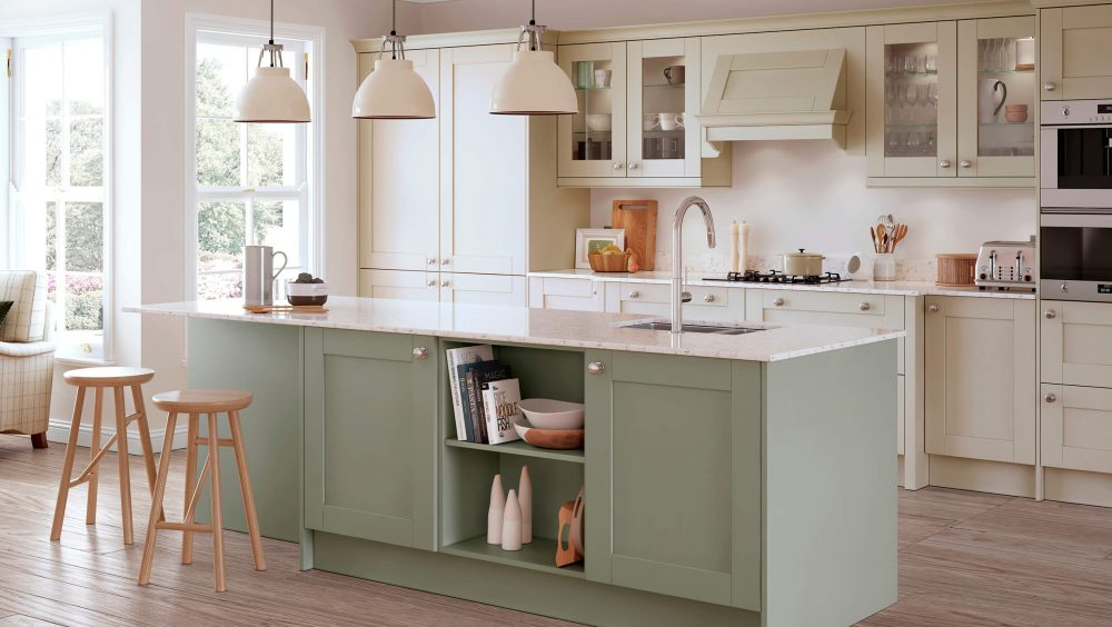 Madison Mussel and Sage Green